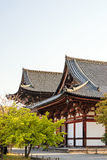 Kyoto Japan på den Toji templet Arkivfoton