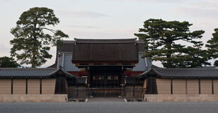 Kyoto Japan temple entrance Royalty Free Stock Photography