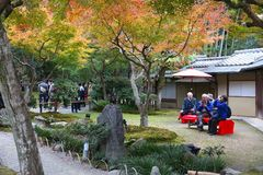 Kyoto - Japanese culture stock photography