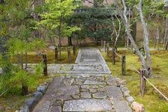 Kyoto Japanese garden Royalty Free Stock Photos