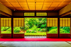 Kyoto Japanese style image. Japanese architecture Stock Photos