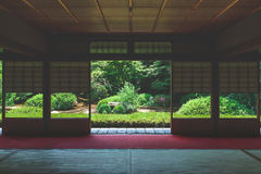 Kyoto Japanese style image. Japanese architecture.n Royalty Free Stock Photos