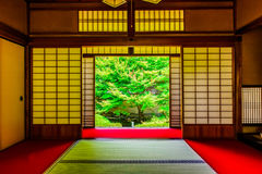 Kyoto Japanese style image. Japanese architecture.n Royalty Free Stock Photo