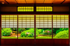 Kyoto Japanese style image. Japanese architecture.n Royalty Free Stock Images