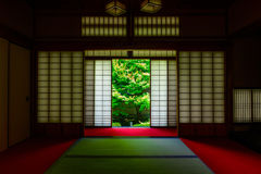 Kyoto Japanese style image. Japanese architecture.n Stock Photography