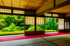 Kyoto Japanese style image. Japanese architecture.n Royalty Free Stock Photography