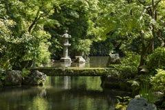 Kyoto, Japon - 19 mai 2017 : Vue de Hojo Garden à Chion-dans Images stock