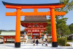 Tombeau de Fushimi Inari, Kyoto, Japon Photographie stock libre de droits