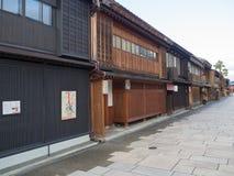 KYOTO JAPONIA, Grudzień, - 20 2016: Turyści wędrują sławną ulicę Fotografia Stock