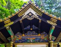 KYOTO JAPONIA, LIPIEC, - 05, 2017: Piękna i stylizowana japanesse świątynia w Kyoto Zdjęcia Stock