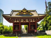 KYOTO JAPONIA, LIPIEC, - 05, 2017: Piękna i stylizowana japanesse świątynia w Kyoto Obraz Stock