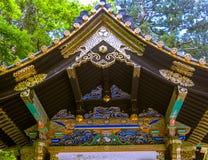 KYOTO JAPONIA, LIPIEC, - 05, 2017: Piękna i stylizowana japanesse świątynia w Kyoto Zdjęcie Stock
