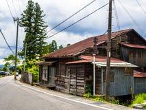 KYOTO JAPONIA, LIPIEC, - 05, 2017: Piękny i stylizowany japanesse dom w Kyoto Zdjęcie Royalty Free