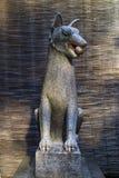 Kyoto Japonia, Maj, - 19, 2017: Kitsune, zwierzęcy opiekun oprócz a Fotografia Royalty Free