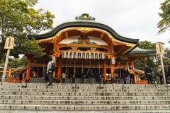 Kyoto, Japonia przy Fushimi Inari świątynią Zdjęcie Stock