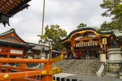 Kyoto, Japonia przy Fushimi Inari świątynią Zdjęcia Stock