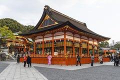Kyoto, Japonia przy Fushimi Inari świątynią Zdjęcia Royalty Free