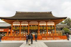 Kyoto, Japonia przy Fushimi Inari świątynią Zdjęcie Royalty Free