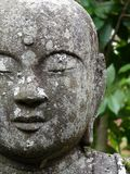 Close up picture of the beautiful Buddha Statue in the Eikando Temple in Kyoto royalty free stock image