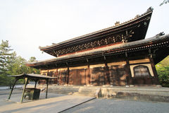 Kyoto Kiyomizudera tempel i Japan Arkivfoton