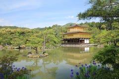 Kyoto Kiyomizudera tempel i Japan Royaltyfria Foton