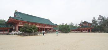 Kyoto Kiyomizudera tempel i Japan Fotografering för Bildbyråer