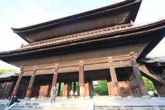 Kyoto Kiyomizudera tempel i Japan Arkivbild