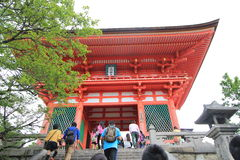 Kyoto Kiyomizudera Temple Royalty Free Stock Photos