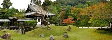 Kyoto Kodaiji tempelträdgård Arkivfoto