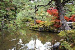 kyoto lake Royaltyfria Bilder