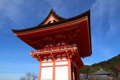 Kyoto landmark Stock Image