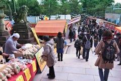 Kyoto loppmarknad arkivbilder