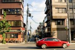 KYOTO, MAJ - 29: Streetview w Kyoto dalej może 29, 20 Zdjęcia Royalty Free