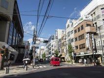 Kyoto moderne, secteur de station de train Photos stock