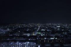 Kyoto-Nacht Lizenzfreies Stockfoto