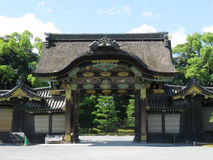 Kyoto Nijo castle inner second gate Royalty Free Stock Photos