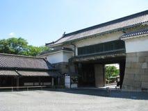 Kyoto Nijo-jo Higashi-otemon gate Stock Photo