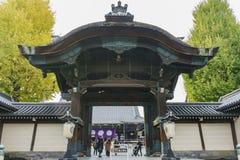 The beautiful main gate of Higashi Hongan-ji Stock Photo