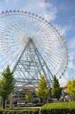 KYOTO OCT 23: Ferris toczy wewnątrz Tempozan schronienia wioskę - Osaka, Fotografia Stock