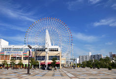 KYOTO- OCT 23: Ferris wheel in Tempozan Harbor Village - Osaka, Stock Image