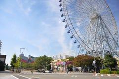KYOTO 23. OKTOBER: Riesenrad herein Tempozan-Hafen-Dorf - Osaka, Stockfotos