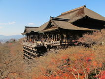 Kyoto Otowa-San Kiyomizu-dera Immagini Stock