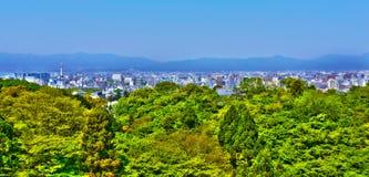 Kyoto panorama. Stock Image