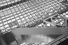 Kyoto Rail Station Stock Image