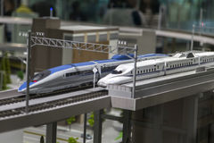 Kyoto railway museum Royalty Free Stock Images