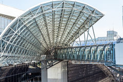 Kyoto railway station Royalty Free Stock Photography