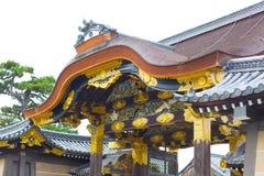 Kyoto-Reise: Nijo-Schloss Nijojo lizenzfreies stockfoto