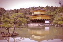 Kyoto retro Royalty Free Stock Images