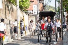 KYOTO rickshaw Stock Image