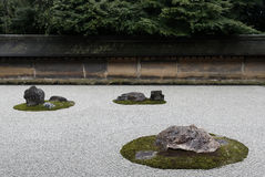 Kyoto Ryoan-ji Royalty Free Stock Photography